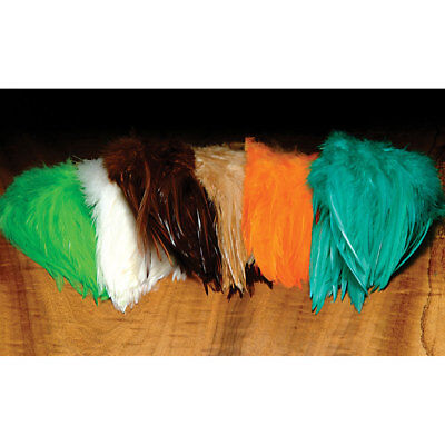 Hareline Dyed Strung Chinese Saddle Hackle Fly Tying Materials Assorted Colors