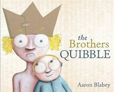The Brothers Quibble by Aaron Blabey Paperback Book Free Shipping!