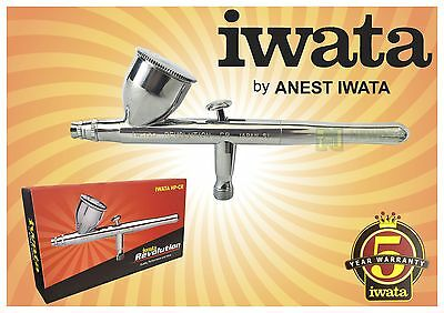 Iwata Airbrush Revolution Hp Cr 0.5Mm Dual Action Gravity Feed Needle Spray Kit