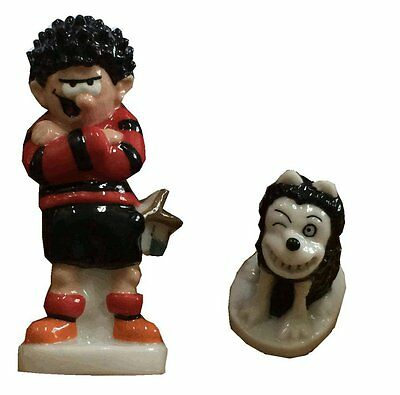 Wade Whimsies - Beano - Dennis the Menace and Gnasher - height approx 1 1/4""