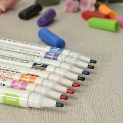 Whiteboard Markers White Board Dry-Erase Marker Pens 8 Colors Set Fine Size Nip