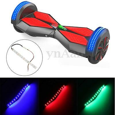 2/4 Hoverboard LED Light Flicker Strip for 2 Wheel Smart Self Balancing Scooters