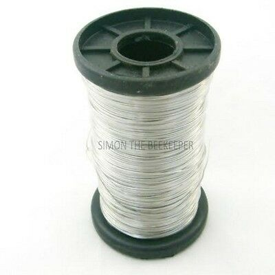 8 X 250g roll of Galvanised Bee hive / frame foundation wire