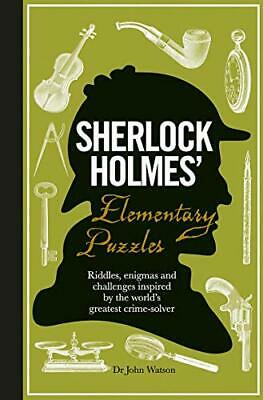 Sherlock Holmes' Elementary Puzzles by Tim Dedopulos Book The Cheap Fast Free
