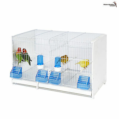 Double Breeding Cage / Small Bird Cage Suitable For Finch Canaries, Budgie etc