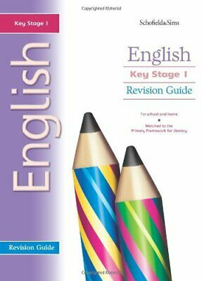 Key Stage 1 English Revision Guide: Years 1 & 2 by Carol Matchett Paperback The