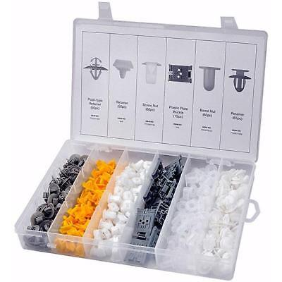 300 Piece Assortment for RENAULT Cars / Vans - retainers screws nuts and clips