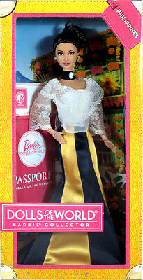 BARBIE COLLECTOR: DOLLS OF THE WORLD - PHILIPPINES 2012 Mattel NEW Pink Label
