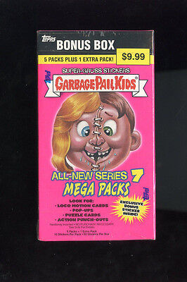 2007 Topps Garbage Pail Kids All-New Series 7 ANS Card Set GPK Wax Pack Box