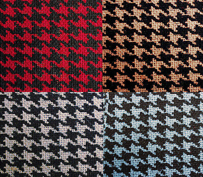 """Houndstooth Burlap 60"""" Wide by The Yard"""