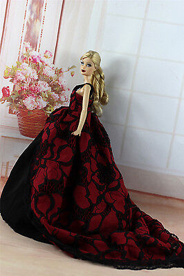 Fashion Royalty Princess Party Dress Clothes/Gown For Barbie Doll S334U