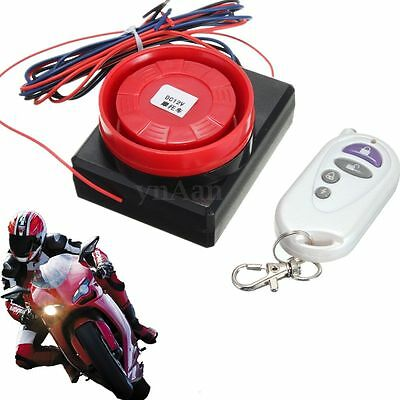 Motorcycle Detector Anti-theft Alarm System Immobiliser Security Remote Control