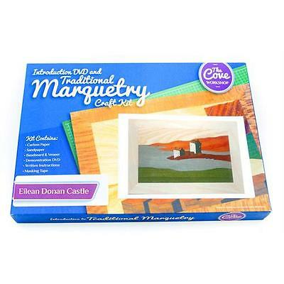 Eilean Donan Castle Traditional Marquetry Craft Kit with Free DVD 260x188mm