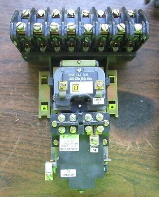 Square D Lighting Contactor 8 Pole 8903 Lx080