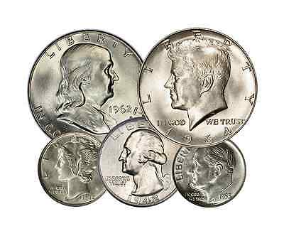 One Dollar Face Junk Silver (Generic)  90%