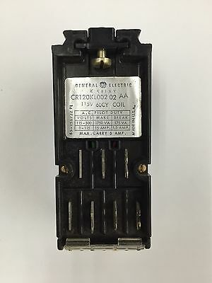 GE Hi Fidelity Latching Relay CR120KL00202AA - New in Box - Old Stock
