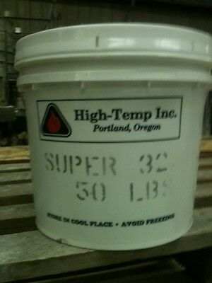 Super 32 Refractory Mortar 50 pound container