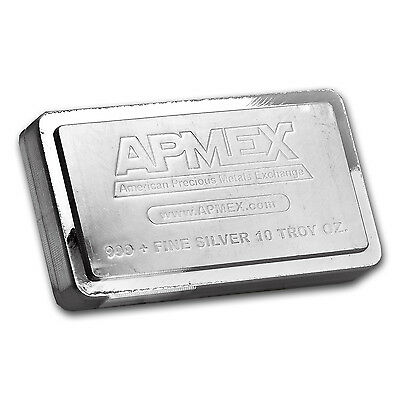 10 oz APMEX Stackable Silver Bar .999 Fine - SKU #83232