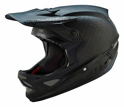 New 2016 Troy Lee Designs Tld D3 Midnight Carbon Mtb Helmet Black All Sizes