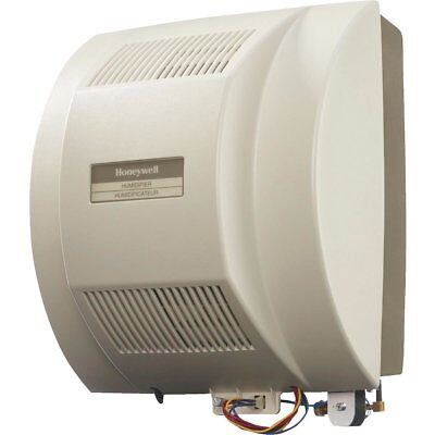 Honeywell Fan Powered Flow-thru Whole House Furnace Humidifier