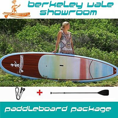TIMBER Stand up paddleboard 'Flower Bloom' 10' 10'6 11'2 Funky SUP Pack Paddle