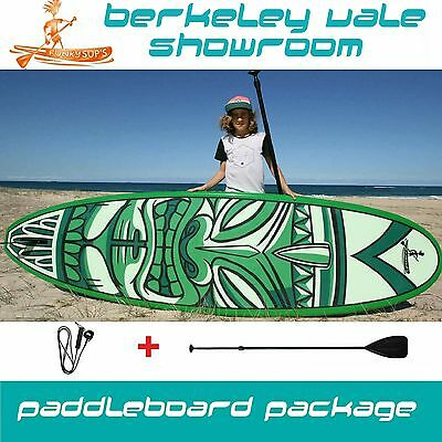 Stand up paddle board 'Cheeky Tiki' 10' 10'6 11'2 Funky SUP Package with Paddle