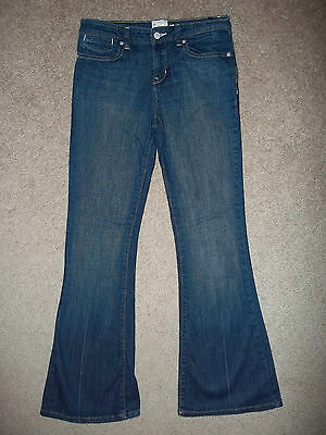 Old Navy The Girlfriend Stretch Classic Rise Flare Jeans Size 14 Reg 28X29 1/2