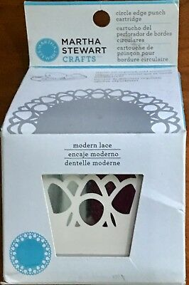 Martha Stewart Circle Edge Punch ~Modern Lace