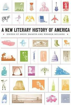 A New Literary History of America by Greil Marcus (English) Paperback Book Free