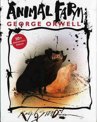 Animal Farm: A Fairy Story by George Orwell (English) Hardcover Book Free Shippi