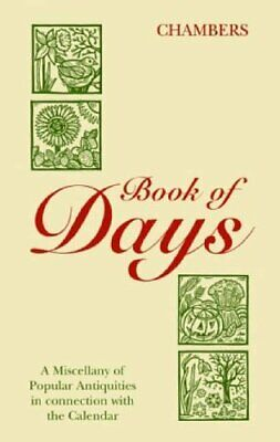 Book of Days (Chambers) by Chambers Hardback Book The Cheap Fast Free Post