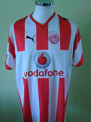 Olympiakos 2008 home shirt  size L  adult