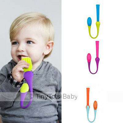 Boon Gnaw Teething Tether. Mesh Area To Attach Snacks