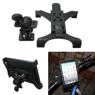 """Microphone Universal Bike Bicycle Stand Holder Mount For 7""""-11"""" Tablet iPad 3/4"""