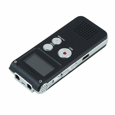 8GB CL-R30 650Hr Digital Voice Recorder Dictaphone with U Disk Function B9