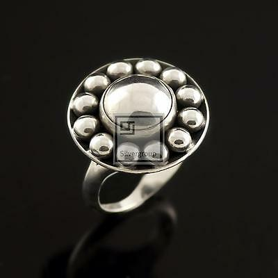 Danish Silver Ring - N. E. From - VINTAGE