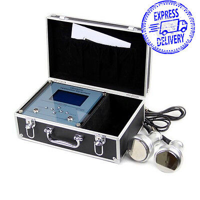 Suitcase Ultrasonic Liposuction RF Slimming Beauty Machine 1MHz Radio Frequency