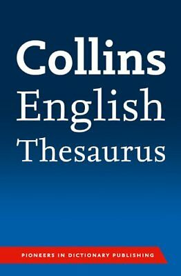 Collins English Paperback Thesaurus, Collins Dictionaries Paperback Book The