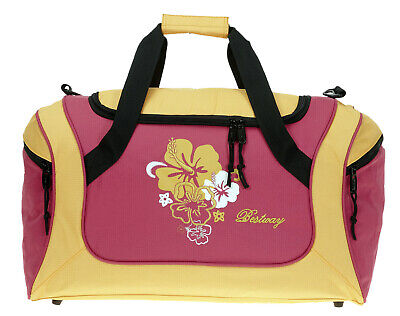 Sporttasche BESTWAY FLOWER 50 Sport Tasche Reisetasche Fitness Studio Bag ORANGE