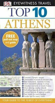 DK Eyewitness Top 10 Travel Guide: Athens by Foster, Jane Paperback Book The