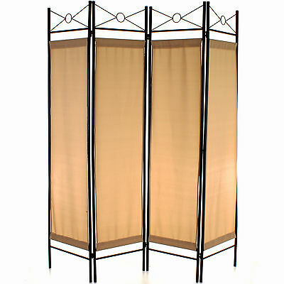 Room Divider Screen Privacy Wall Movable Partition Folding Separator Paravent