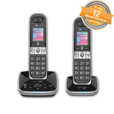 BT 8610 Twin Digital Cordless Phone With Answer Machine & Advanced Call Blocking
