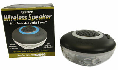 Game™ 4312 Bluetooth Speaker & Light Show For Swimming Pools & Parties