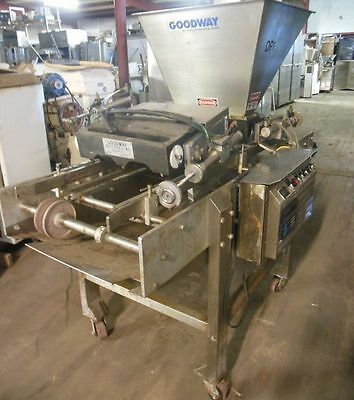 Goodway Muffin / Cupcake 5-Piston Depositor With Conveyor, PF-40