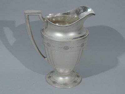 Tiffany Water Pitcher - 18181D - Antique - American Sterling Silver - C 1911