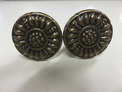 Lot of 2  Ornate Drawer Pulls