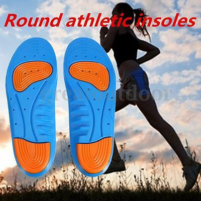 Man Gel Orthotic Support Shoes Insoles Heel Arch Foot Blisters Sport Pad Cushion