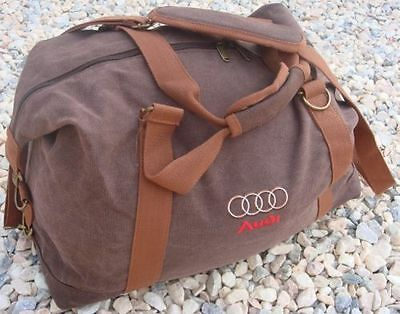 Audi - Canvas Weekender Holdall Was £89.99 - Now Only £39.99