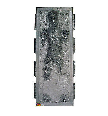 Advanced Graphics Star Wars Han Solo in Carbonite Life Size Cardboard Cutout
