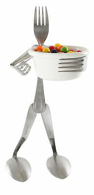 Forked Up Art Fork Candy Dish Stand